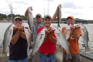 TROPHY STRIPER TIME AT TEXOMA by Luke Clayton